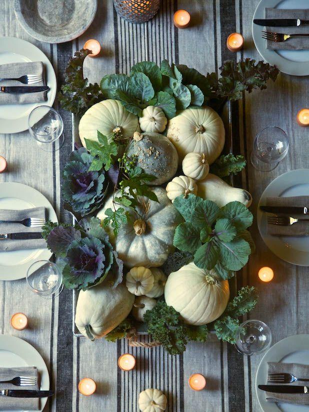 ornament cabbage centerpiece