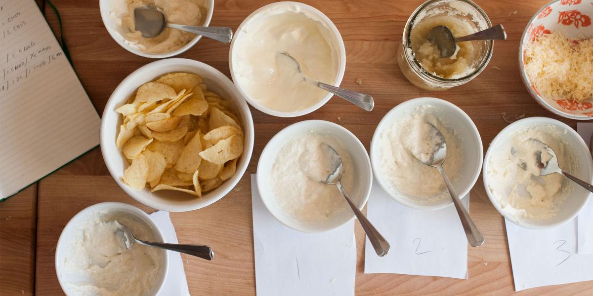 Sauerkraut and cheddar dip