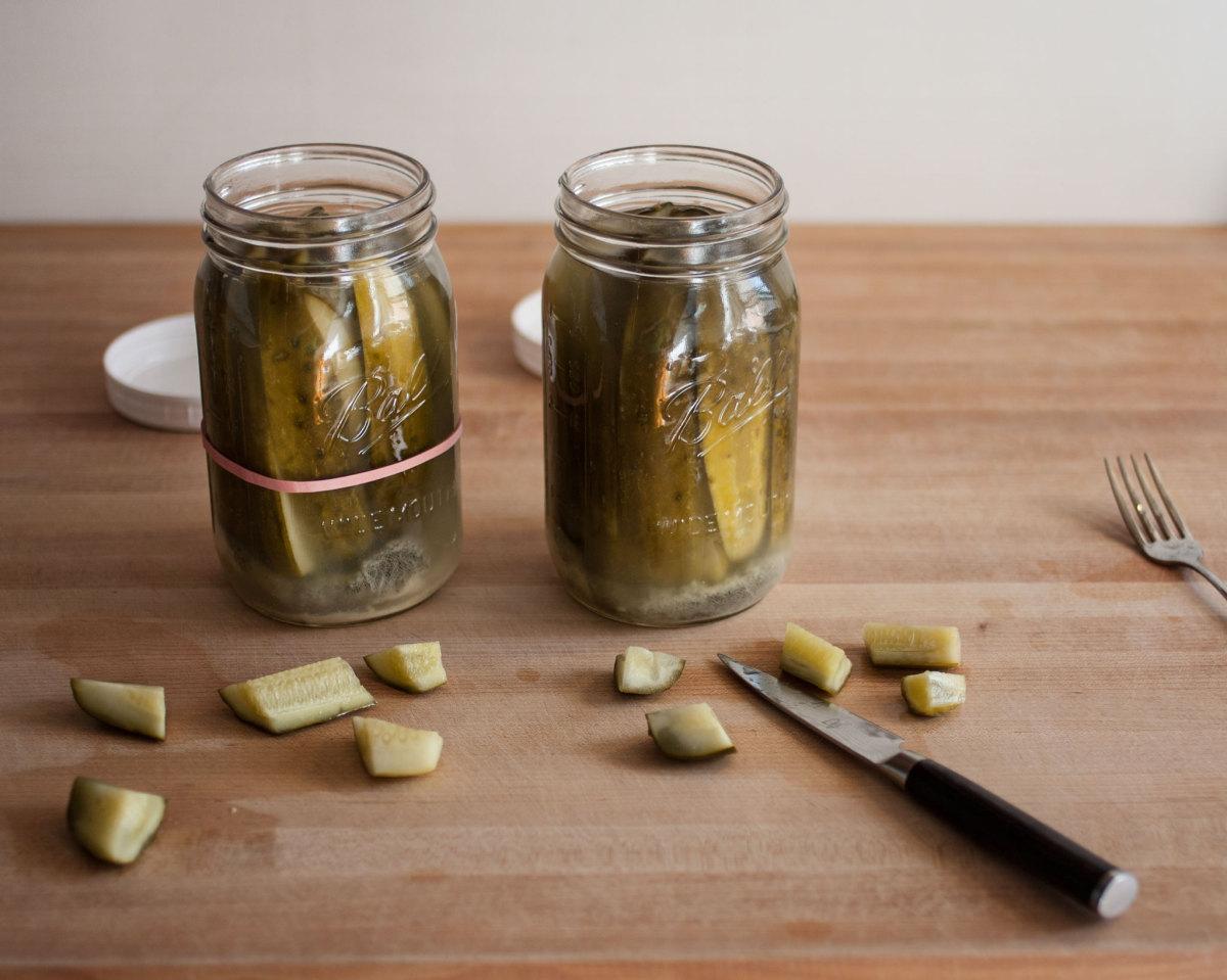 Tasting pickles